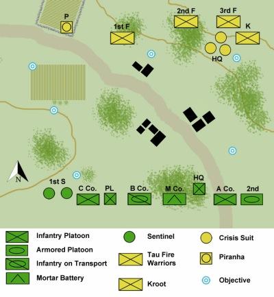 First Battle of Malati map ID
