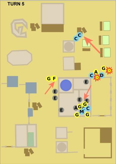 Morkai battle turn 5