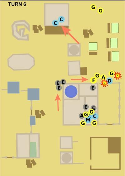 Morkai battle turn 6