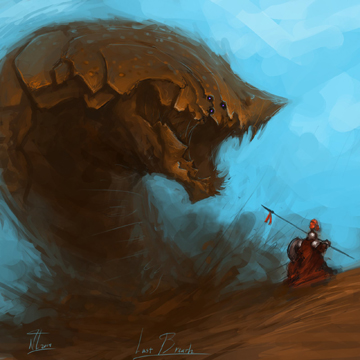 Sandworm attack Warhammer 40K blog