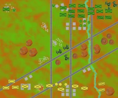 Zyra Mines battle map deployment