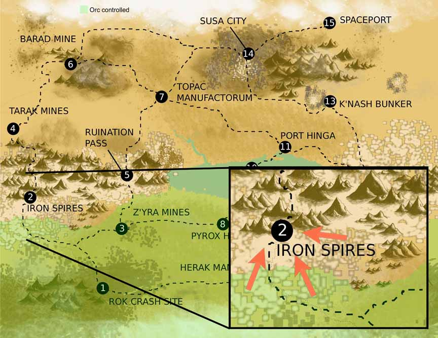 Hegira Third Iron Spires attack