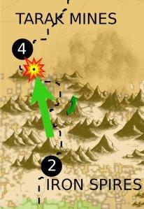 Tarak Mine strategic map