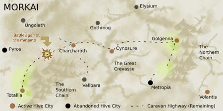 morkai mutant map